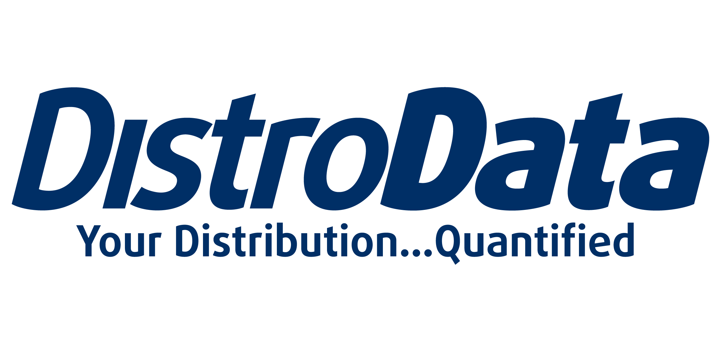Your distribution …Quantified!